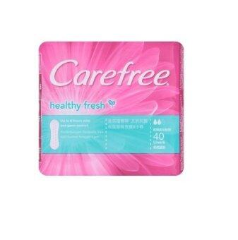 Harga Carefree Healthy Fresh 40 Liners