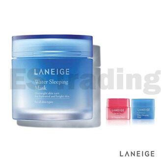 Harga [Laneige] Water Sleeping Mask 70ml + Water Sleeping Mask 15ml + lip Sleeping Mask 3g