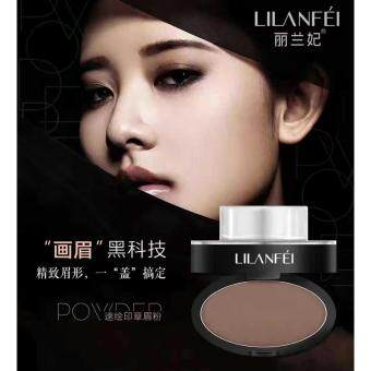 Harga Eyebrow Stamp by Lilanfei (Dark Brown-Curve)