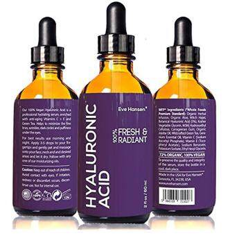 Harga 2 oz Hyaluronic Acid - Facelift in a Bottle #2 - 100% Vegan Professional Hydrating Serum - SEE RESULTS OR - Big 2 ounce (Twice the Size) Wrinkle Filling Hyaluron - PLUMP YOUR SKIN INSTANTLY
