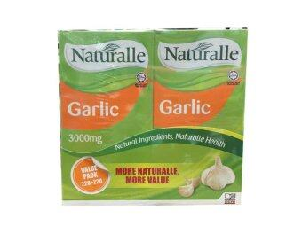 Harga Naturalle Garlic value pack (220 + 220)