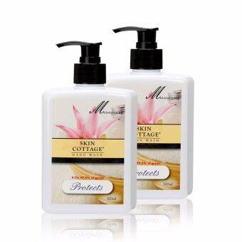 Harga Skin Cottage Antibacterial Hand Wash (Protects) 500ml Twin Pack [FREE SHIPPING]