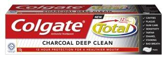 Harga Colgate Total® Charcoal Deep Clean Toothpaste 150g