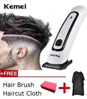 Harga Kemei KM-2169 Electric Hair Clipper Professional Dry battery charging dual use Blade Hair Trimmer Barber