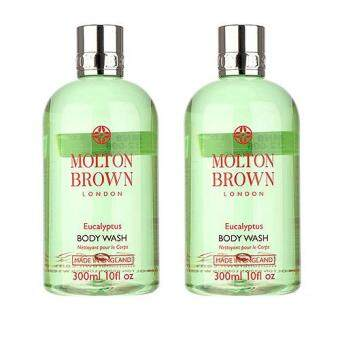 Harga 2 x Molton Brown Body Wash 10oz, 300ml Eucalyptus