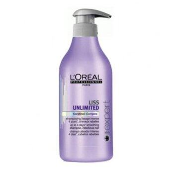 Harga Loreal Liss Unlimited Smoothing Shampoo (500ml)