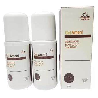 Harga 2 BOTOL - Gel Amani Relieve Knee Pain And Joint - 60ml (ORIGINAL)