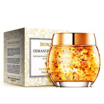 Harga Osmanthus fragrant flower petals sleep mask moisturizing Mask 120ml