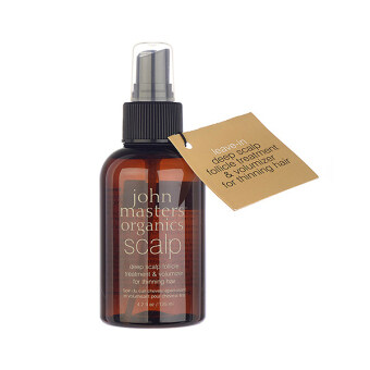 Harga John Masters Organics Deep Scalp Follicle Treatment & Volumizer (for Thinning Hair) 4.2oz/125ml