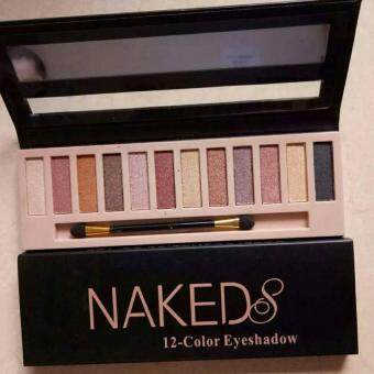 Harga Naked 8 NEW Cover Conceal 12 colour Palette Black