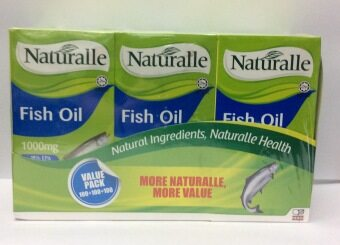 Harga Naturalle Fish Oil 1000mg 100's x 3