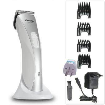 Harga 4 In1 Pro KEMEI KM-1830 Rechargeable Electric Hair Clipper Trimmer Grooming Kit