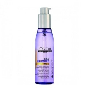 Harga Loreal Liss Unlimited Leave-In Oil