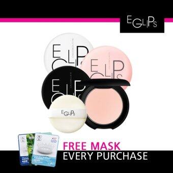 Harga Eglips Glow Powder Pact + Free 1 Pcs 3W Clinic Mask Sheet [Buy 1 Get 1 Freebie]