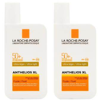 Harga 2 x La Roche-Posay Anthelios XL Very High Protection Ultra-Light Fluid SPF50+ 50ml