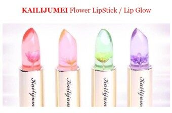 Harga KAILIJUMEI Flower LipStick / Lip Glow / Thailand Popular Lip Stick / Lip Gloss / Cosmetic Barbie Doll