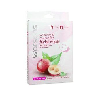 Harga WATSONS Whitening & Moisturising With Camu Camu Fruit Extract Mask 5s