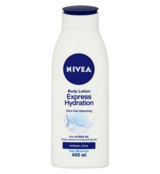 Harga Nivea Express Hydration Body Lotion 400ml