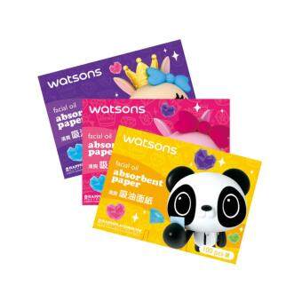 Harga WATSONS Happiplayground Facial Oil Absorbent Paper 100's 100's