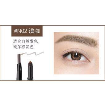 Harga MAXDONA 3 in 1 Eyebrow Pencil - Code 02 DEEP BROWN