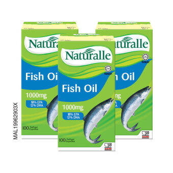 Harga NATURALLE Fish Oil 1000mg 3 x 100's