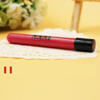 Harga Women Lipstick Lip Color Waterproof Lip Pencil Lip Gloss Lip Pen (2#)-