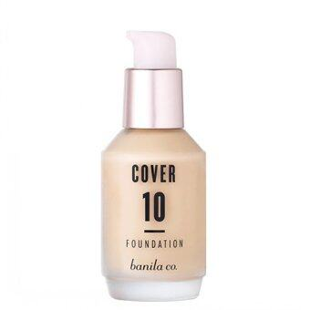 Harga Banila co Cover 10 FOUNDATION SPF30 PA++ BE10 30ML