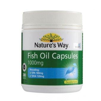 Harga Nature's Way Fish Oil 1000mg Capsules 200'S