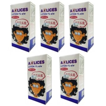 Harga [Set of 5] ALICES LOTION SHAMPOO (ANTI-LICE, ANTI-KUTU) 60ML