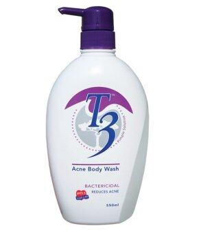 Harga T3 Acne Body Wash 550ml