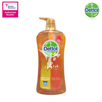 Harga Dettol Gold Shower Gel Classic Gel 950ml Bottle - 3023436
