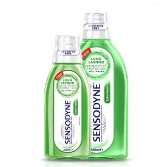 Harga Sensodyne Mouthwash Extra Fresh 250ml