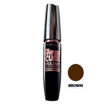 Harga Maybelline Volum' Express Hypercurl Waterproof Mascara [Brown]
