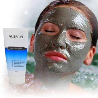 Harga WONDERSHOP Acevivi Natural Sea Mud Facial Mask Excess Oil Pore Cleanser Natural Moisturizer Blackhead Cleanser