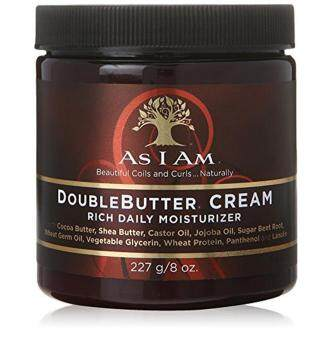 Harga As I Am Double Butter Rich Daily Moisturizer, 8 Ounce
