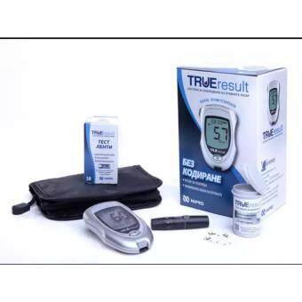 Harga NIPRO LIFETIME WARRANTY BLOOD GLUCOSE MONITOR METER (50 TEST STRIPS)
