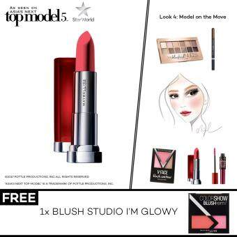 Harga [AsNTM] (FREE Blush Studio I'M GLOWY) Maybelline Color Sensational Powder Mattes Avenue C
