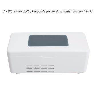 Harga Vinmax Portable Insulin Cooler Box Mini Drug Reefer Car Small Refrigerator 2-8℃