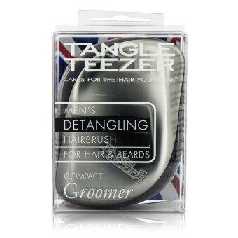 Harga Tangle Teezer Compact Styler Mens Compact Groomer Detangling Hair Brush (For Hair & Beards) 1pc