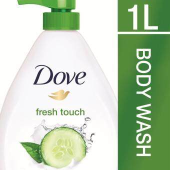 Harga Dove Go Fresh Shower Gel Fresh Touch 1 L