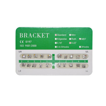 Harga New Dental Dentist Orthodontics Brackets Standard MBT 022 No Hooks – 20Pcs/Pack