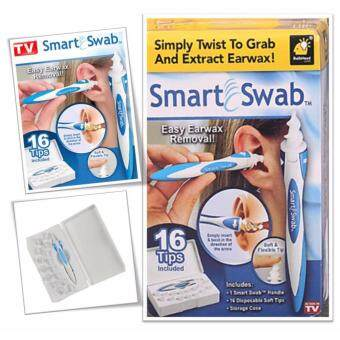 Harga Smart Swab Easy Earwax Removal Soft Spiral Ear Cleaner