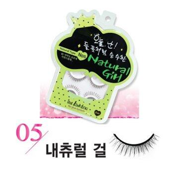 Harga ing lashtoc No Glue Eyelash No.5 Natural Girl