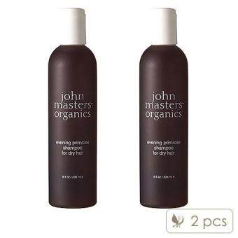 Harga 2 x John Masters Organics Evening Primrose Shampoo (Dry Hair) 8oz, 236ml