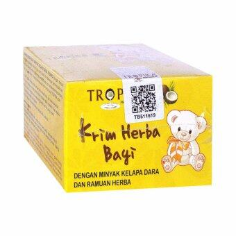 Harga 1 x Box TROPIKA BABY HERBAL CREAM (KRIM HERBA BAYI) 50GR