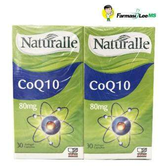 Harga Naturalle CoQ10 80mg 2x30s (Exp 08/2017)