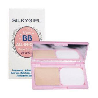 Harga SILKY GIRL Magic BB All In One Powder Foundation 03 1's