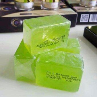 Harga (Original) 2 pcs DERMAX Honeydew Collagen Soap DMS360 + FREE LIPSTICK