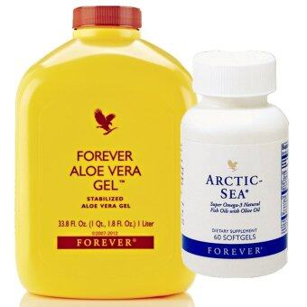 Harga Forever Living Aloe Vera Gel X1 + Arctic Sea x1 - Digestive Care [FREE SHIPPING FOR 1ST KG]