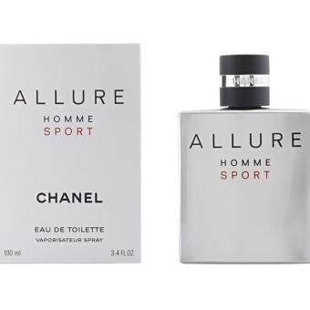 Harga Allure homme sport by Chanel EDT 100ML Men Spray/Perfume (Tester Quality)